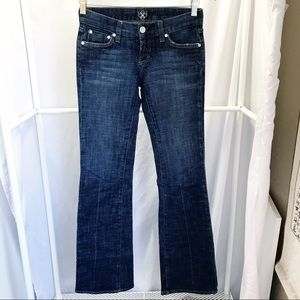Bebe Carmen Rivet Jeans Sz 27